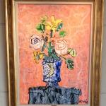 ポール・アイズビリ「マジョルカの花瓶のブーケ」