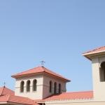 南欧風の離れ華館屋根